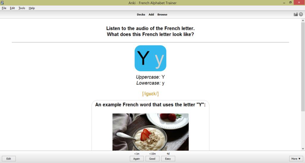French Alphabet Flashcards: Anki for Beginners | SPEAKADA