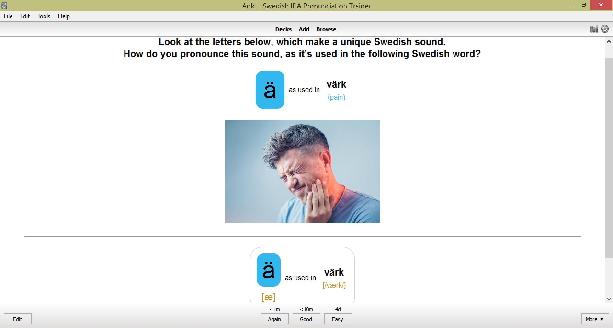 Swedish IPA Pronunciation Flashcards – SPEAKADA